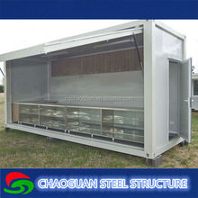 Collapsible container home, Living,Office/Toilet container