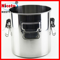 Wholesale King-size Stainless Steel Big Storage Can / Milk Transport Can