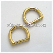 Alloy D ring For handbag making accessories