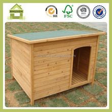 SDD06 wooden dog house design dog kennel