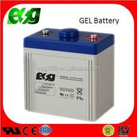 2015 Hot sale solar energy system GEL 2V 100AH UPS solar battery