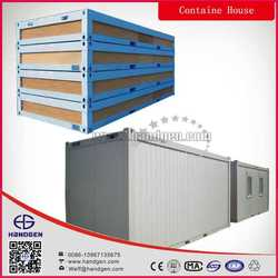 Living 20ft Flat Pack pre assembled house with CE, Canada, Australia standard