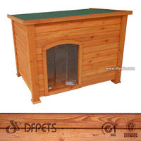Wooden Dog Kennel,FSC,Solid Wood DFD025