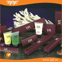 newest high quality paper box packed the latest disposable travel amenities set fashion