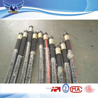 ID 5'' WP 85bar concrete pump rubber end hose product in China