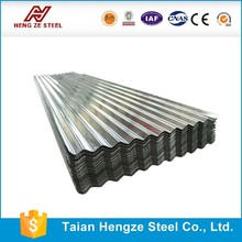 china mainland DX51D/DX52D corrugated galvanized steel roofing sheet/plate