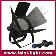 barn door light 12pcs 4in1/5in1/6in1 LED Waterproof PAR light led stage light
