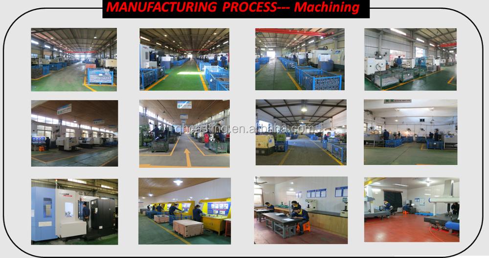 OEM CNC machining инвестиций точности стального литья деталей