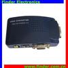 VGA to TV AV VGA to Composite RCA S-Video Video Signal Converter Adapter Box Computer Laptop
