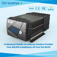 8 Channels HD 3G / 4G Mobile DVR for Bus - Streamax A5-H0404