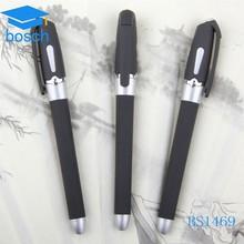 Promotional plastic roller pen glitter gel ink pen