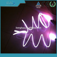 No conductivity 4.0mm solid core side glow outdoor lighting
