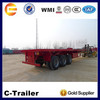 China trailers supplier 40ft container chassis trailer