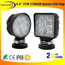27watt led worklight 27w led work light for truck led work light 27w 12v/27v