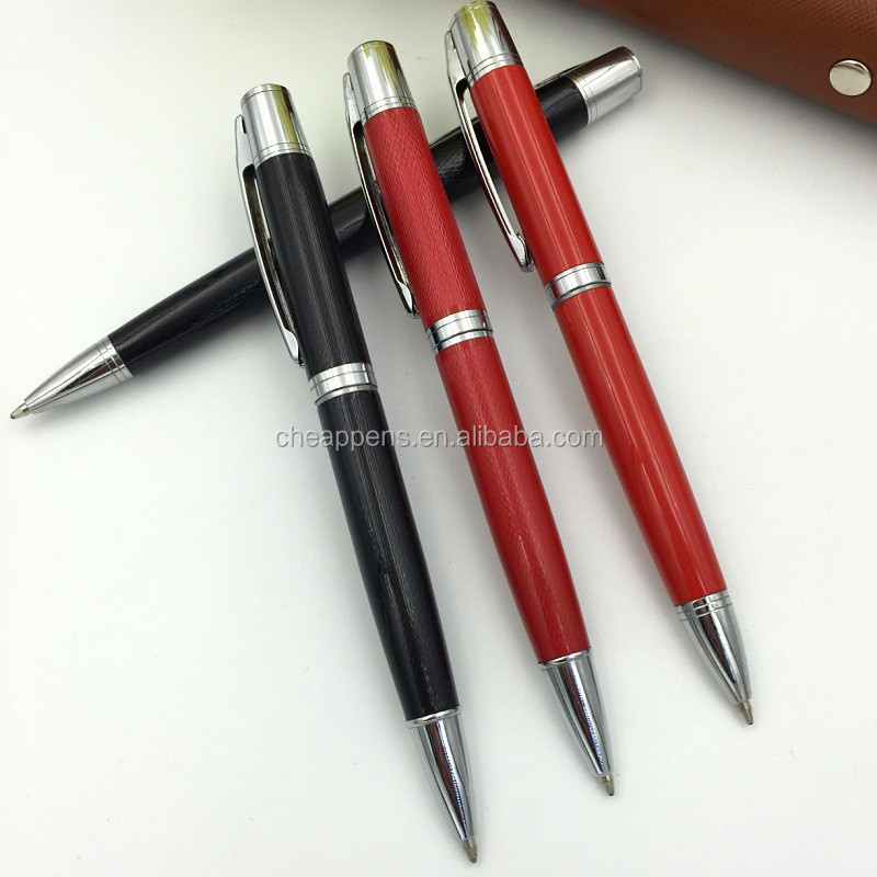 Corporate gift red metal ball pen,metal ballpoint pen.jpg