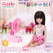 Child Toy With Mini Fan Real Educational Toy Doll