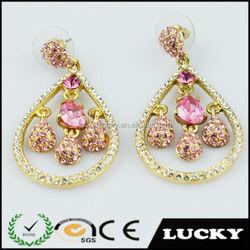 2014 wholesale fashion cheap bulk earring jewelry