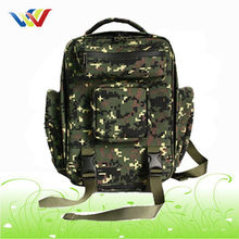 Outdoor Canvas Waterproof Military backpack