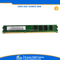 Buy direct from China factory 1333mhz 8bits ddr3 4gb memory module