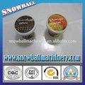 venta caliente 90 ml desechables de plástico de hielo taza de crema con tapas