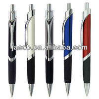 triangular ballpoint pen with logo printing free shipping 1000pcs