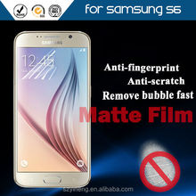 New Arrival! Brand Axidi Matte Mobile Phone Screen Protector for Samsung Galaxy S6 OEM Supported