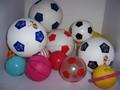 بو البلاستيكية لكرة القدم اللاعبين اللعب