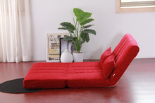 unique design fabric foldable double sofa bed B84