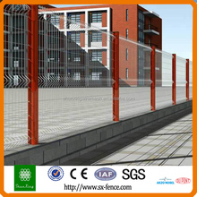 V galvanized iron electric wire mesh fence / 3v fold fencing