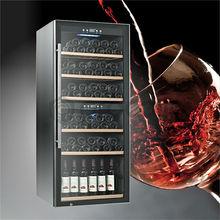 vertical de vinho da adega