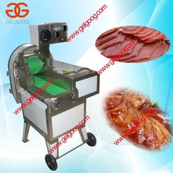 Automatic Frozen Cooked Beef Cutting Machine|800kg/h Stainless Steel Cooked Beef Cutter Slicing Machine For Sale