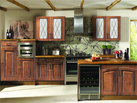 CE approved poplar solid wood kitchen cabinet(removable)