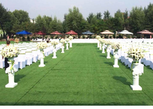 high quality natural synthetic grass turf artificial grass for wedding decoration