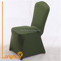 Elastic Chair Seat Cover Elastic Stretch Banquet Wedding Chair Seat Cover for Chair