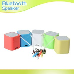 Mobile Phone Portable Bluetooth Speaker for iPad2/iPhone /Apple Nano/Mini