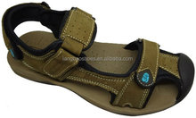 Chinese factory sale men high quality genuine leather sandal