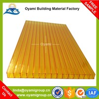 Building material 10 years guarantee pc patio cover for roofing
