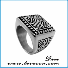 Vingate top quality men wholesale stainless steel ring
