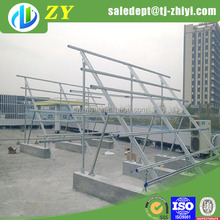 Practical hot dipped galvanized solar panel bracket for the solar system