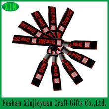 Unique customized handmade woven ribbon bracelet/ buy wrist bands