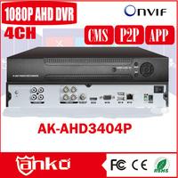 Hotselling 4ch h.264 network dvr 1080P AHD DVR Hi3521