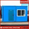 modular antirust flatpack galvanised steel structured homes