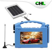 2015 la venta superior CHL solar modelo linterna hogar con usb de carga