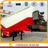 3 axles tanker semitrailer V-shaped bulk tanker truck trailer from China factory