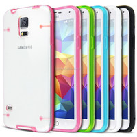 Crystal TPU Bumper Clear Back Case For Samsung Galaxy S5