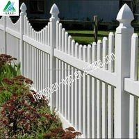 Top selling construction WPC fence /Modern house design wood like fence/ garden outdoor fence