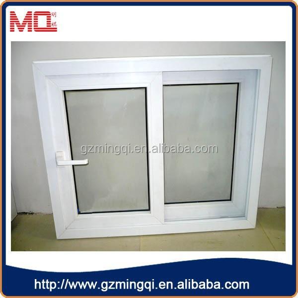 Hot Sell House Office Interior Sliding Window Pvc Window