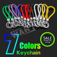 7 colors cheap keychains in bulk