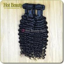 La extensión de cabello natural para el pelo malasio original, que es muy bonito