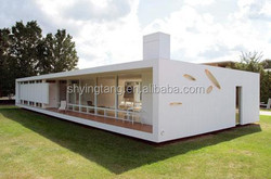 2015hot sale easy install modular house, villa for vacation, container house for home